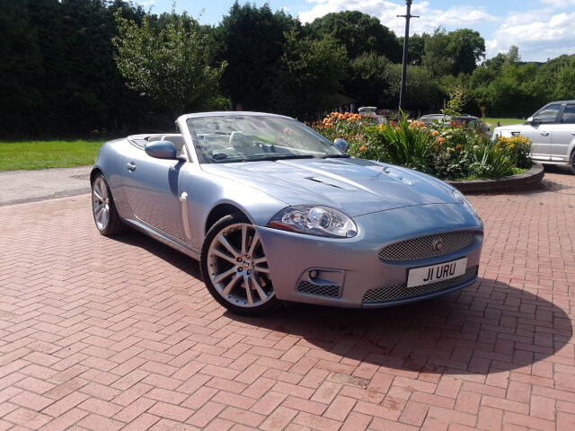 2007 jaguar xkr 4 2 supercharged v8 convertible hunters. Black Bedroom Furniture Sets. Home Design Ideas